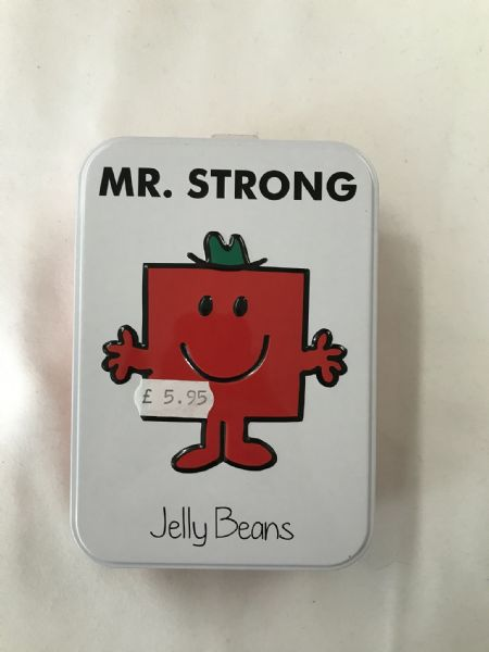 Mr Strong Jelly Beans Tin 170g